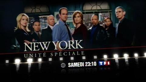 BA - NEW YORK UNITÉ SPÉCIALE - Samedi 31 janvier 2009 à 23h10 sur TF1