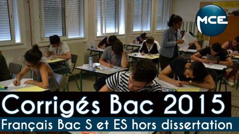Corrig du sujet de franais au Bac L 2015 - Letudiant fr