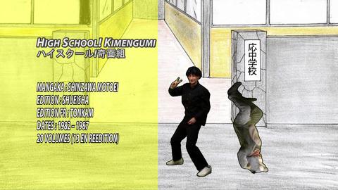 bad Raconte-Moi Un Manga 4 - High School! Kimengumi/Collège Fou Fou Fou