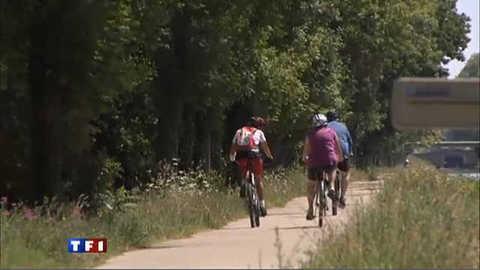 Balade à vélo le long du canal du midi et de Garonne (série 2/5)