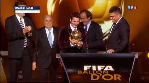 Ballon d'or 2011 : et de trois pour Messi