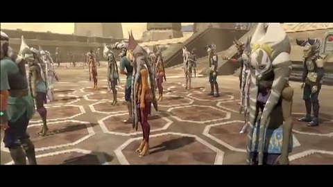 Bande annonce Star Wars: The Clone Wars saison 4 (VO)