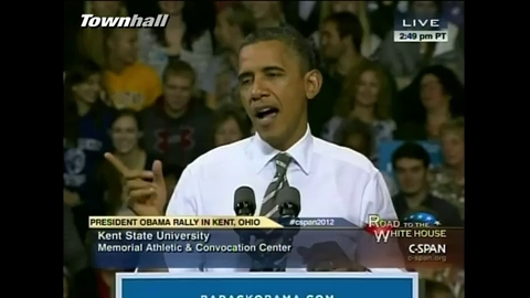 Barack Obama fait un lapsus lors d'un discours... et se moque de Mitt Romney
