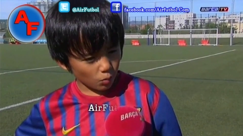 Barcelone signe avec un japonais de 11 ans
