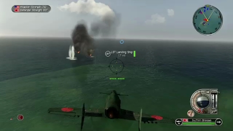 Battlestations Pacific - Gameplay 2 - Xbox360/PS3