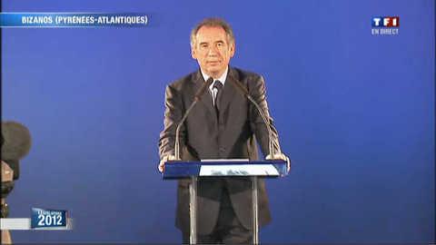"""Bayrou : """" j'ai perdu mais l'heure de vérité vient """""""