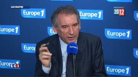 "Bayrou : ""il y a des appels du pied"" des camps Hollande et Sarkozy"