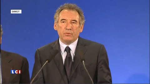 """Bayrou: """"Mon électorat n'a pas compris"""" ni """"accepté"""" mon choix pour Hollande"""