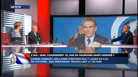 """Bayrou qui votera Hollande : """"tout cela est très chaotique"""""""