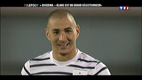 """Benzema : """"Blanc est un grand sélectionneur"""" (18/03/2012)"""
