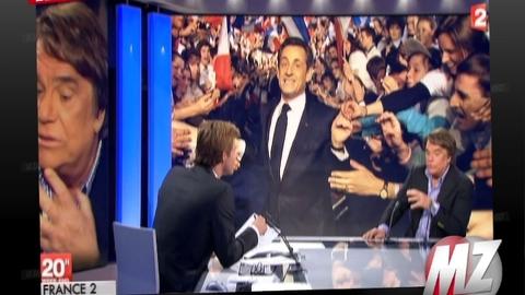 """Bernard Tapie roule pour Sarkozy: """"Je ne vais certainement pas appeller à voter Hollande !"""""""