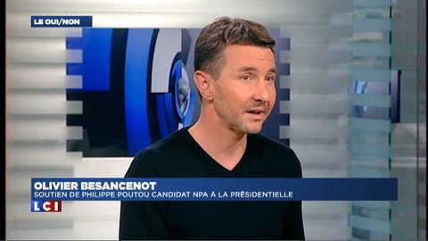 """Besancenot : """"Le programme de Sarkozy ? Taper sur les travailleurs"""""""