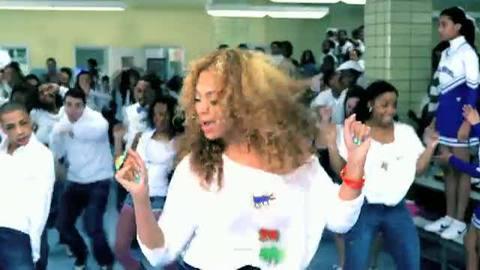 Beyoncé danse contre l'obésité