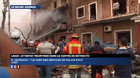 Beyrouth : « le chef des services de police était visé »