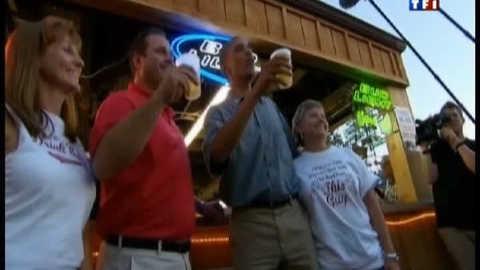 La bière, nouvelle arme électorale d'Obama