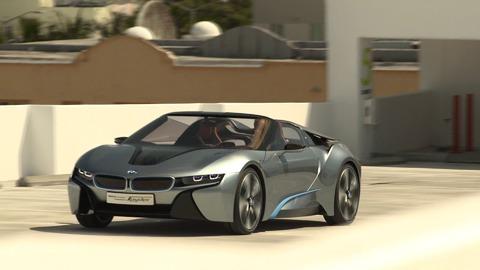 BMW i8 Spyder Concept en présentation officielle