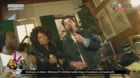 Boeuf musical entre Flo Malley Keh Mey Edwood et Maxime henry - Live des 24h