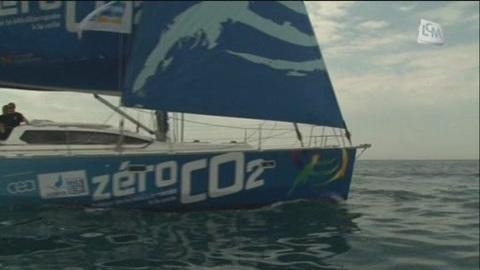 "A bord du ""zéro CO2"" (Marseille)"