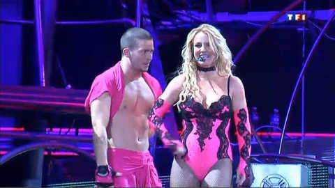 Britney Spears a mis le feu à Amnéville
