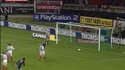 Les Buts de Pauleta au PSG