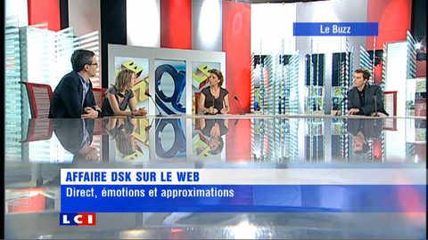 Buzz (1/2) - Affaire DSK sur le web
