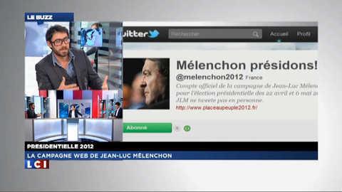 Le Buzz (1/2) du vendredi 03 février 2012 : La campagne web de Jean-Luc Mélenchon