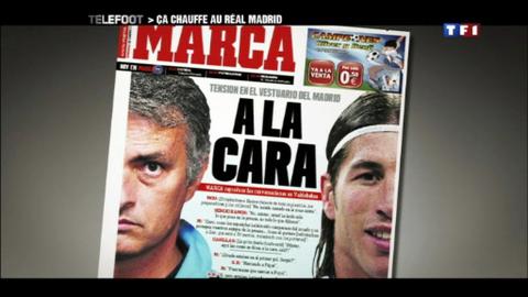 Ca chauffe au Real Madrid ! (22/01/2012)