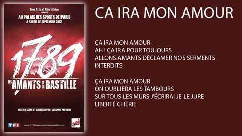 """""""Ca ira mon amour"""" - Rod Janois (1789 Les Amants de la Bastille)"""
