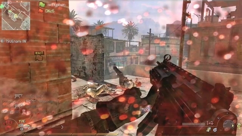Call of duty : Modern Warfare 2 - Flag Runner