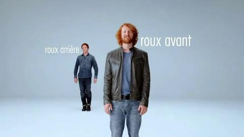Une campagne publicitaire avec des roux pour une assurance deux-roues
