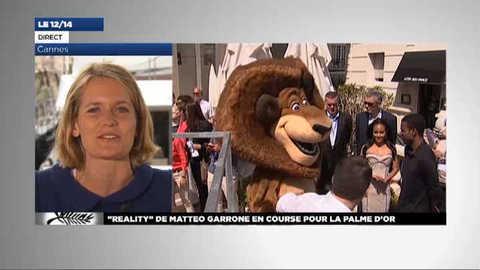 Cannes 2012 : les fauves de Madagascar 3 enflamment la Croisette