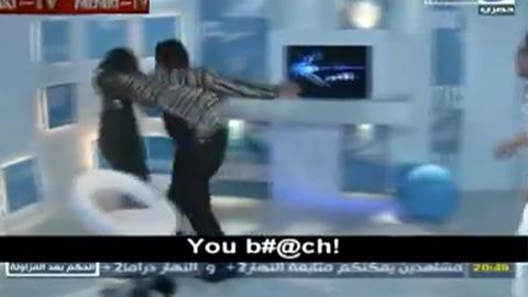 Un canular dégènère à la TV égyptienne