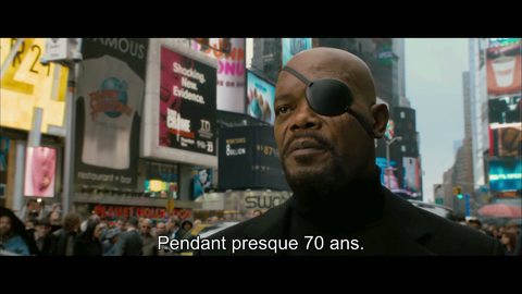 "Captain America: First Avenger - Extrait ""Times Square"" VOST"
