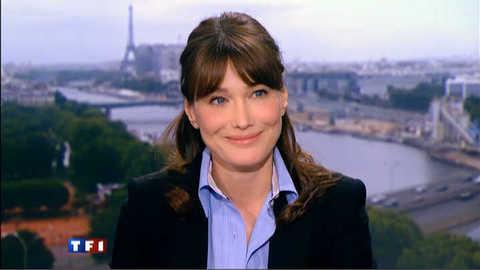 """Carla Bruni-Sarkozy : """"l'illettrisme est un fléau"""""""