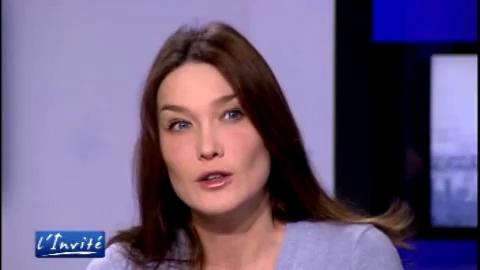 Carla Bruni-Sarkozy, sa lutte contre le SIDA