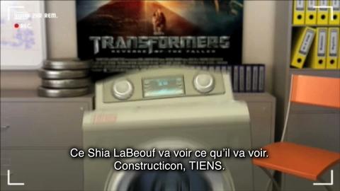 Casting Walter - Transformers 2 : la revanche