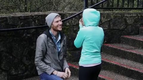 Ce jeune Américain a préparé une demande en mariage époustouflante