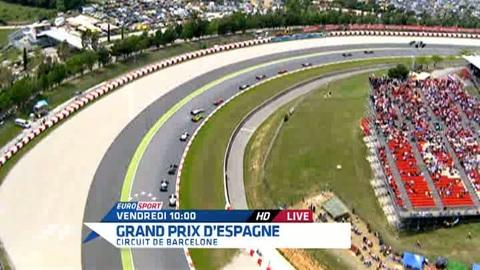 Ce week-end grand prix de F1 live sur Eurosport