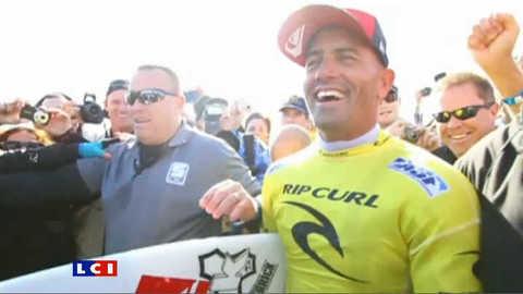 Cette fois, Kelly Slater est bien champion du monde de surf