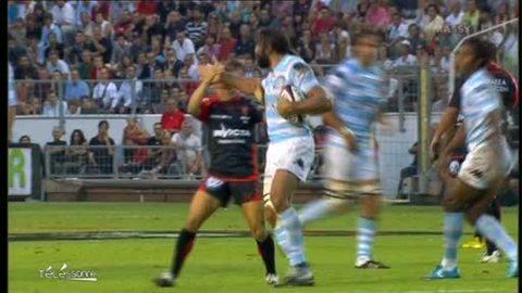 Chabal entretien la forme au RC Massy (Rugby)