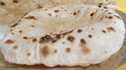 Chapatis, pains indiens