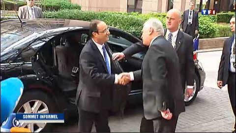 Les chefs d'Etat de l'UE réunis à Bruxelles