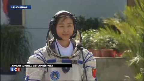 La Chine envoie, pour la première fois, une femme dans l'espace