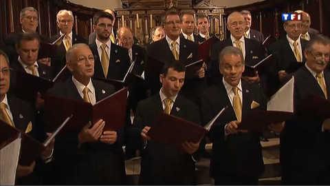 La chorale des hommes de Noël