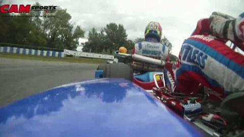 Chpt du Monde Karting CIK-FIA à Essay: caméra embarquée