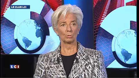 """Christine Lagarde : """"Il y maintenant urgence dans l'action"""""""