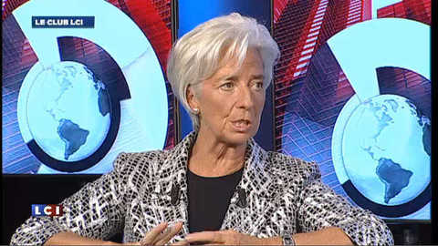 Christine Lagarde : les pays émergents sont aujourd'hui entraînés vers le bas