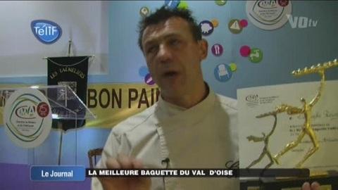 Christope Rouget, meilleur boulanger du Val d'Oise