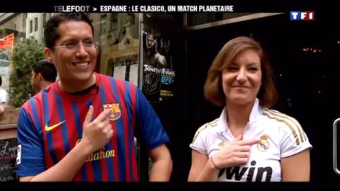 Le clasico Barça – Real Madrid : un match planétaire (22/04/2012)