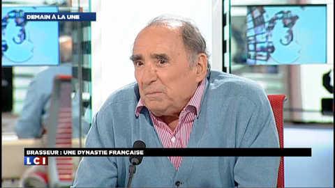 """Claude Brasseur """"Demain à la Une"""""""